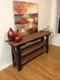 Pallets Ideas, Designs, DIY.  Side Table Out of Pallet Wood