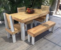Outdoor Furniture Set Out of Wood Pallet   Pallet Ideas ...