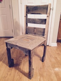 Pallet Dining Room Chair | Pallet Ideas: Recycled ...