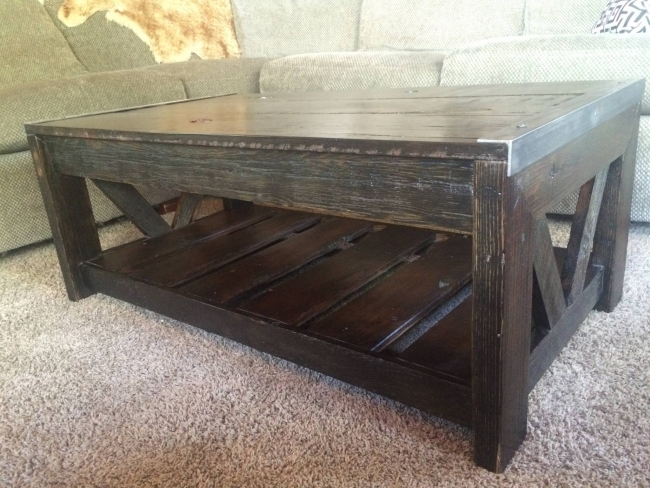 Reclaimed Pallet Coffee Table Pallet Ideas Recycled