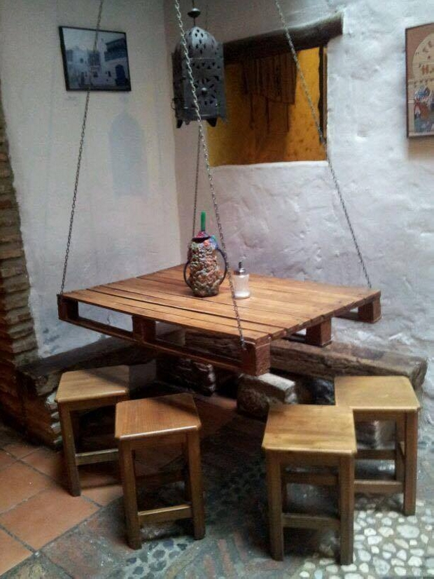 Wooden Pallet Made Table Ideas | Pallet Ideas