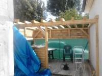 DIY Pergola with Wood Pallet | Pallet Ideas: Recycled ...