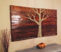 Pallet Wall Art Ideas
