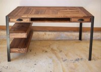 Pallet Desk Ideas | Pallet Ideas: Recycled / Upcycled ...