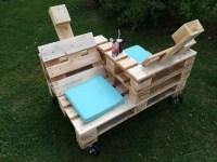 Pallet Furniture For Outdoor | Pallet Ideas: Recycled ...