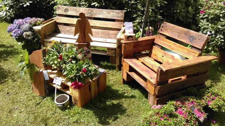 Beautiful Pallet Garden Furniture Idea Pallet Ideas Recycled ...