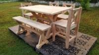 Garden Furniture Out of Wood Pallets   Pallet Ideas ...