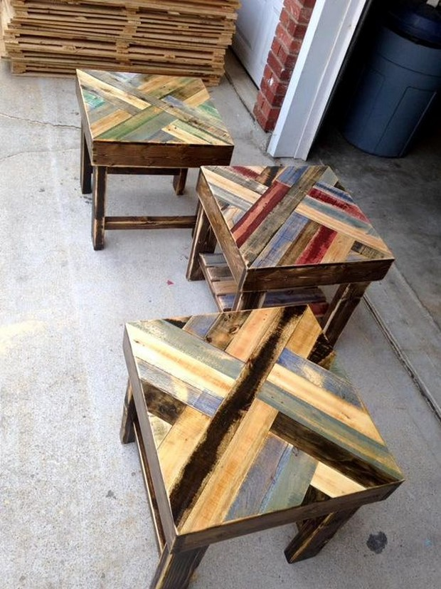 pallet hallway table ideas