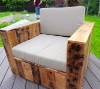 Beautiful Pallet Wood Patio Furniture | Pallet Ideas ...