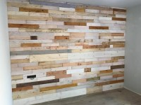 DIY Pallet Wood Wall Paneling | Pallet Ideas: Recycled ...