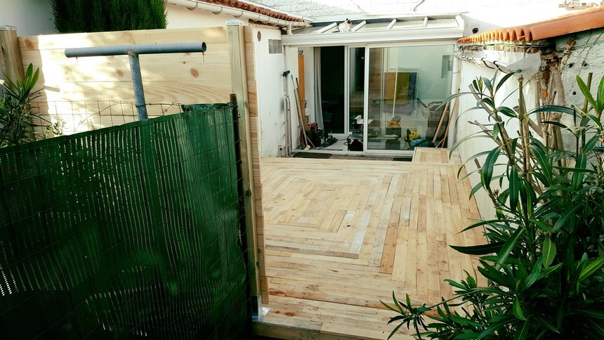 Diy Pallet Outdoor Flooring My Decor Home Decor Ideas