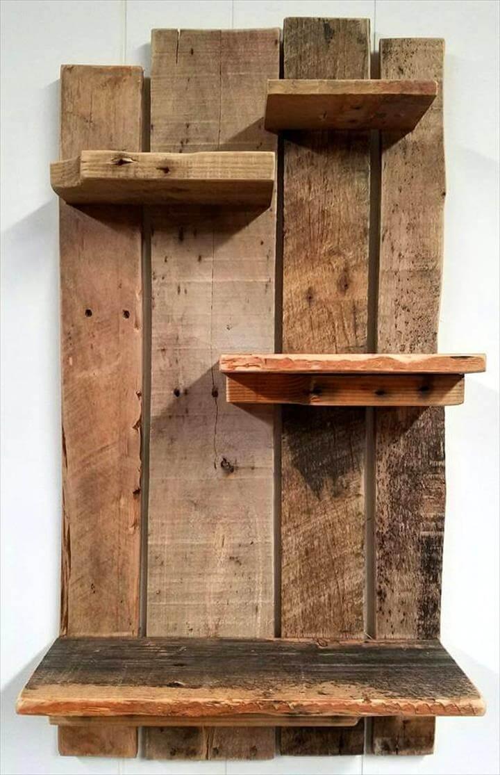Pallet Shelf For Wall Decoration Pallets Pro