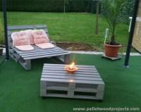 Pallet Garden Furniture Ideas | Pallet Wood Projects