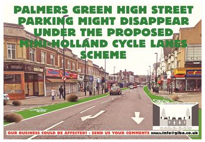 Mini holland or town centre desert palmers green jewel for A salon palmers green