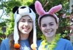 Tira and Gillian, Camp Iris Way counsellors (photo by Palo Alto Pulse)