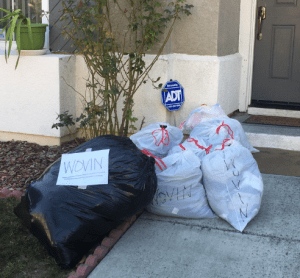 WOVIN offers free home pick up and a great new way to donate clothes