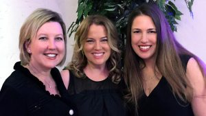 Olenka Villareal, Jill Asher and Kris Loew. Photo credit: Magical Bridge