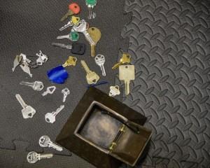 keys and locks aplenty