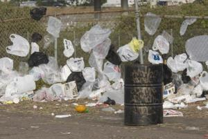 Should California uphold the law banning plastic bags? Credit Image: © Earl S. Cryer/ZUMA Press)