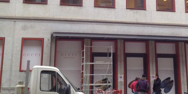 {focus_keyword} L'uomo di Gucci apre di fronte a Brera Gucci Brera 6001