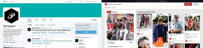 social_facebook {focus_keyword} Pitti alla sfida dei social social facebook