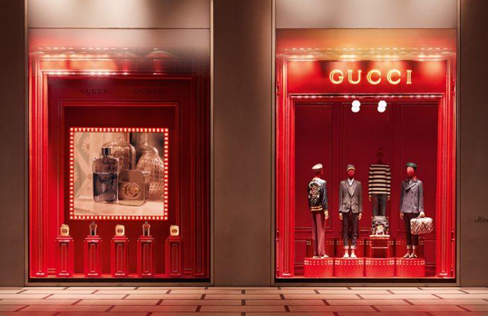 Vetrine Gucci, La Rinascente Milano {focus_keyword} Gucci, boom dello store su Instagram GucciRinascente