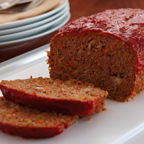 Garden-Style Meat Loaf - Recipes Pampered Chef Canada Site