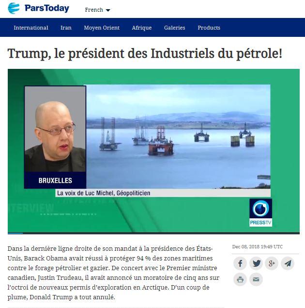 RP LM.GEOPOL - parstoday trump pétrole I (2018 12 15) FR (1)