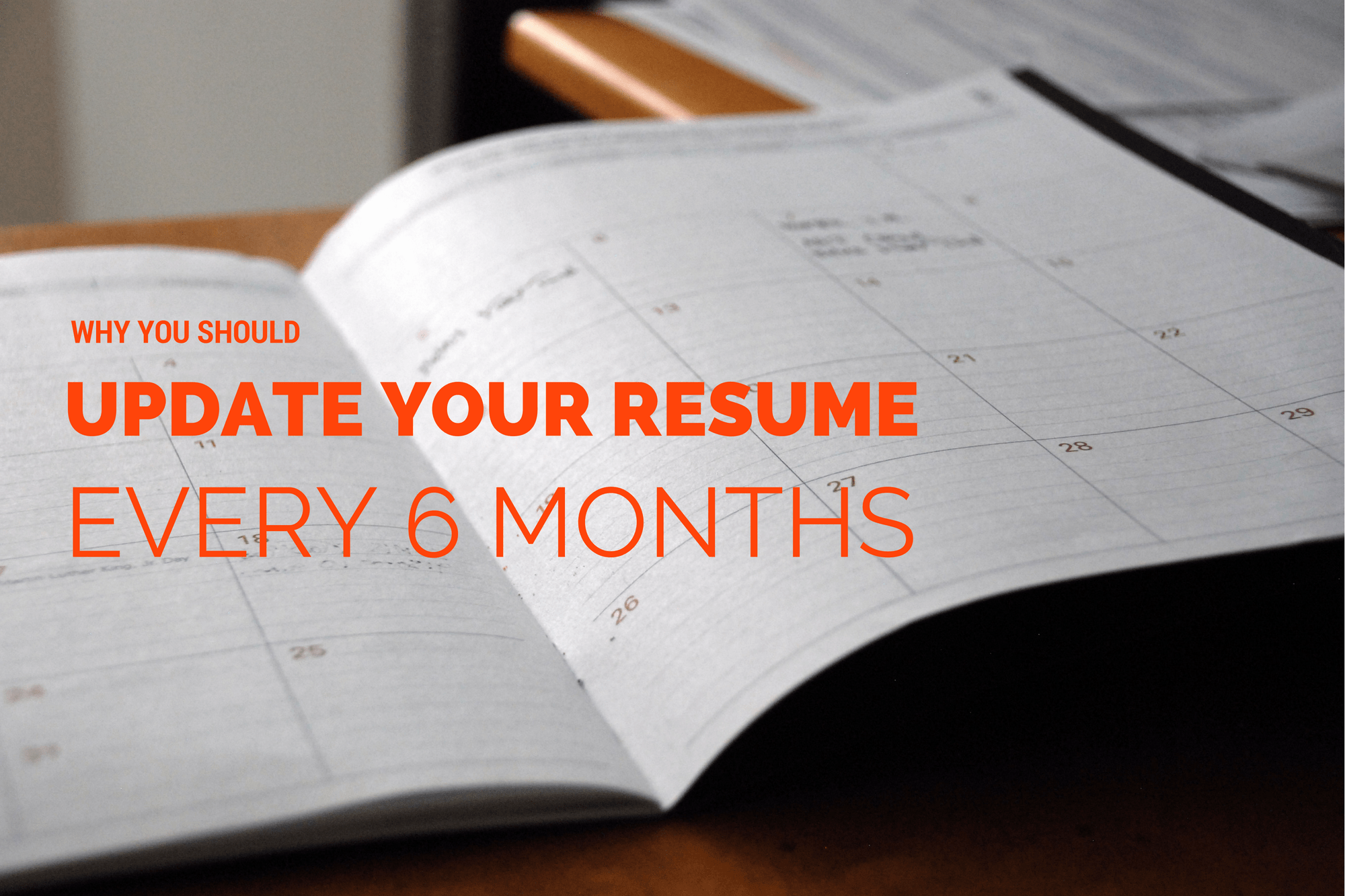 how to update your resumes