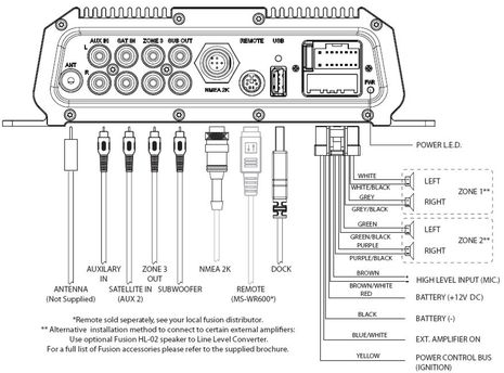 stereo wiring diagram boat