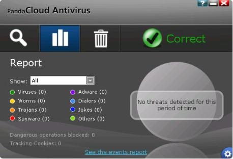 Panda Cloud Antivirus – Free Edition 1.3