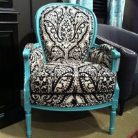 Damask Chairs - Panda's House