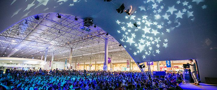 campus party stage