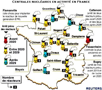 Les centrales nucléaires en France Géo 192  Énergie nucléaire - security incident report