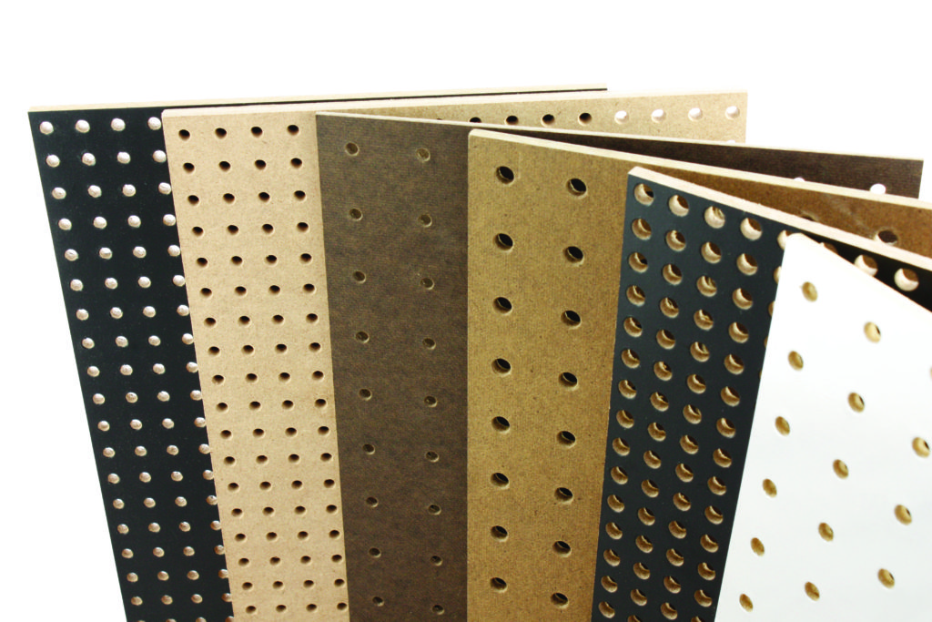 Pegboard Panel Processing