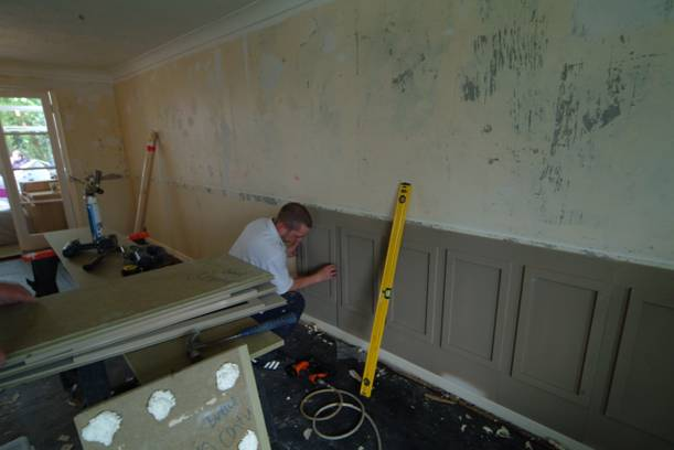How to Install Your Own Wall Panelling