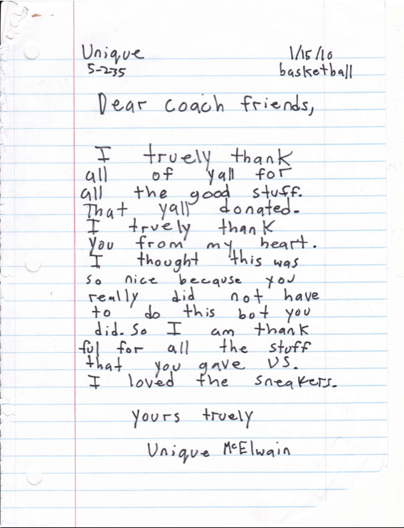 Thank You Letter To Coach Resignation Letter To Parents Of Students