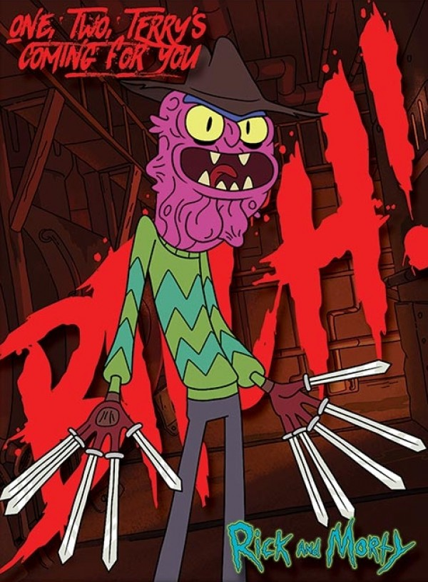 Rick And Morty Hd Wallpaper Rick And Morty Prints Rick And Morty Scary Terry Print