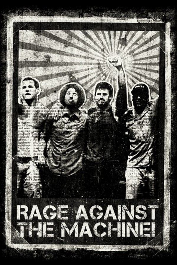 Childrens Car Wallpaper Rage Against The Machine Posters Ratm Distressed Poster