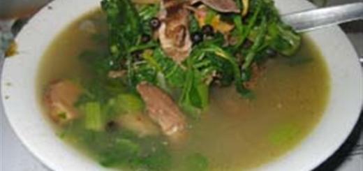 Tinolang Manok with Itag Recipe