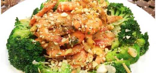 Stir-fried Shrimp with Cashew Nuts Recipe
