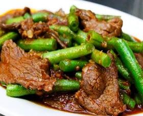 Stir Fry Beef & Green Beans