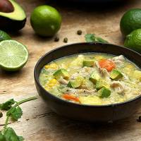 COLOMBIAN CHICKEN SOUP: AJIACO