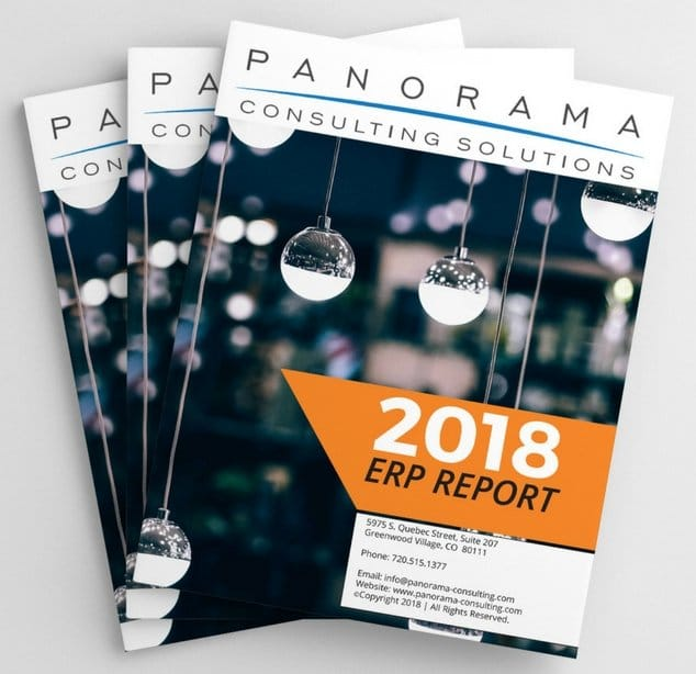Panorama\u0027s 2018 ERP Report Panorama Consulting Solutions - consulting report