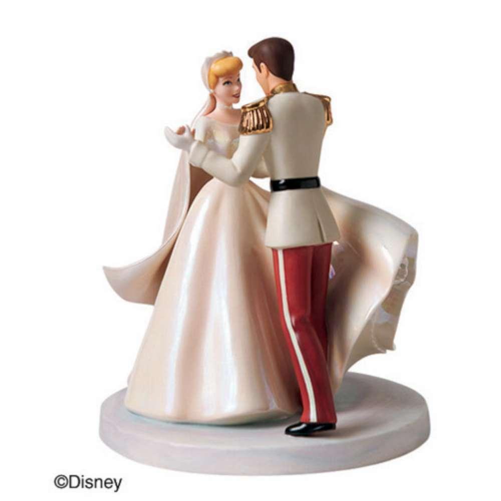 Cinderella Figurine Cake Topper