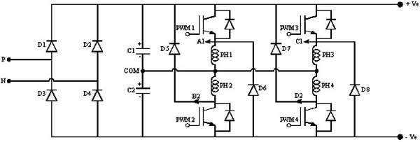 schematics and pcb circuits of tms320f28335 ti dsp board and igbt