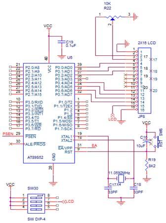Circuit Diagram Of 8051 Development Board - Wwwcaseistore \u2022