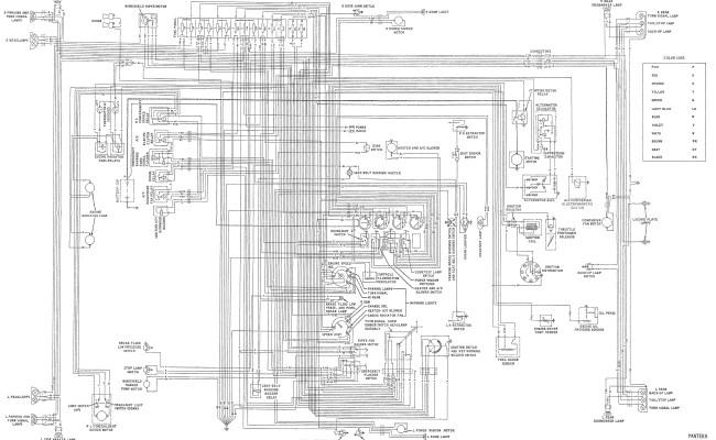electrical diagrams the pantera place de tomaso pantera the knownledge