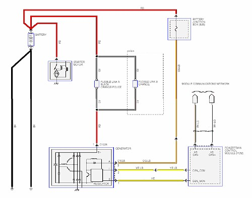 2003 ford crown victoria wiring diagram
