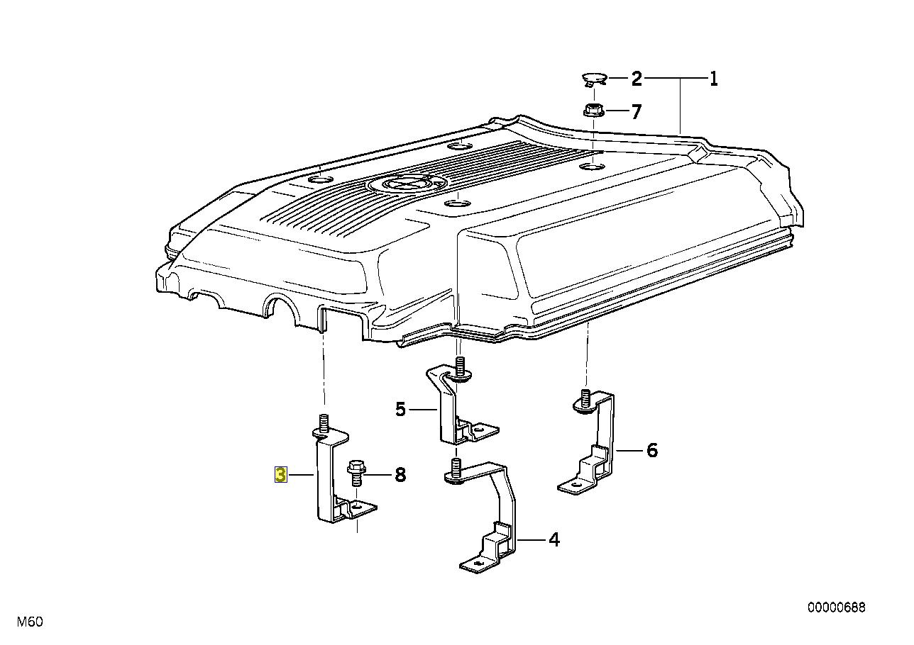 bmw m60 engine diagram